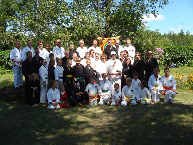 Whitefish Falls Karate Camp Aug 2010