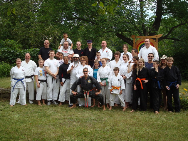 Whitefish Falls Karate camp Aug 2011